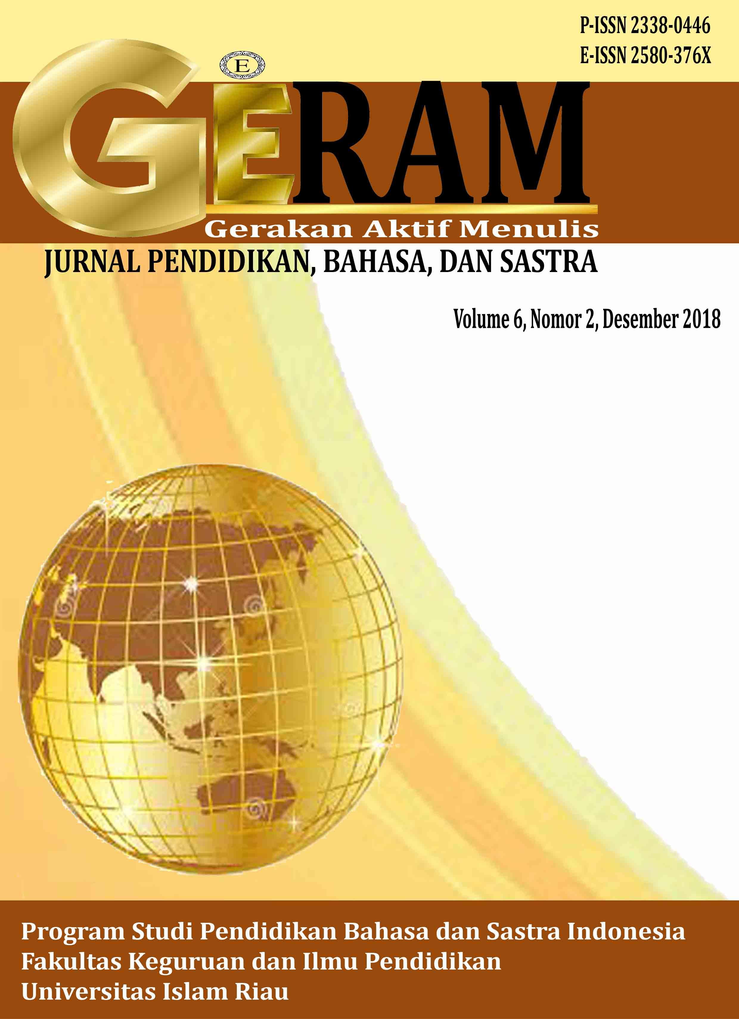 Skripsi Bahasa Dan Sastra Indonesia Pdf