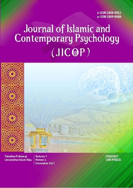Journal of Islamic and Contemporary Psychology (JICOP)